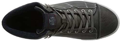 2 Hautes Baskets Top Sneaker Mustang Gris High Homme Grau Hnw8wx