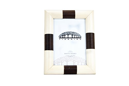 Handmade Wooden Photo Frame Table Top Immitation of OX Bone(57, White)plastic / acrylic picture frame