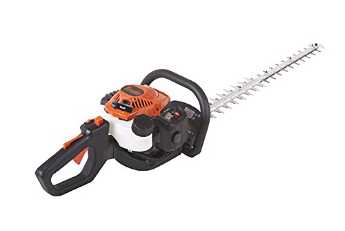 Tanaka TCH22ECP2 21cc 2-Cycle Gas Hedge Trimmer with 30-Inch Commercial Double-Sided Blades