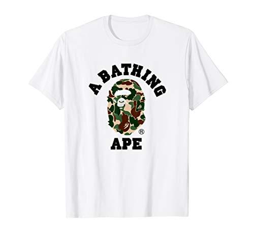 A Bathing Vintage Art Design T-Shirt from The Bapes Design Tees