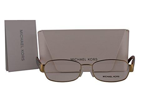 Michael Kors MK7001 Amagansett Eyeglasses 52-16-135 Gold w/Demo Lens 1004 MK - Eyeglass Kors 2016 Frames Michael