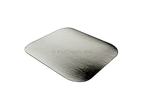 (Handi-Foil of America Foil Laminated Board Lid for 1 lb. Oblong Aluminum Containers 500/Pk - Lids Only (pack of 500) )