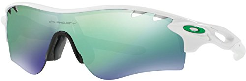 Oakley Men's Radarlock Path (a) Non-Polarized Iridium Wrap Sunglasses, Polished White, 38.02 - Radarlock Path Polarized