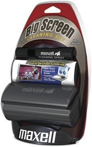 Maxell BSCK-1 BIG SCREEN CLEANING KIT ( 290012 ) (Discontinued by (Maxell Cd Disc Cleaner)