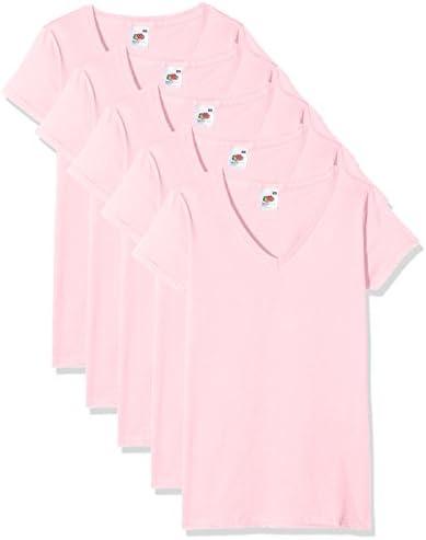 Fruit of the Loom damski T-shirt (opakowanie 3 szt.): Odzież