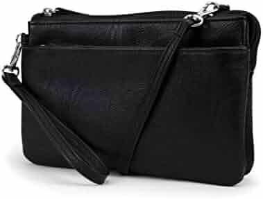 d57f092da Mundi Brady Anti Theft Womens Cell Phone Crossbody Bag RFID Purse Wallet