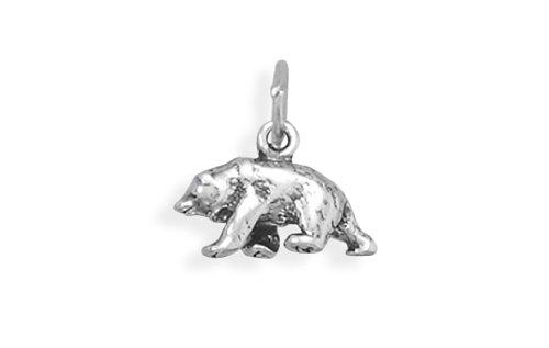 (Corinna-Maria 925 Sterling Silver Bear Charm)