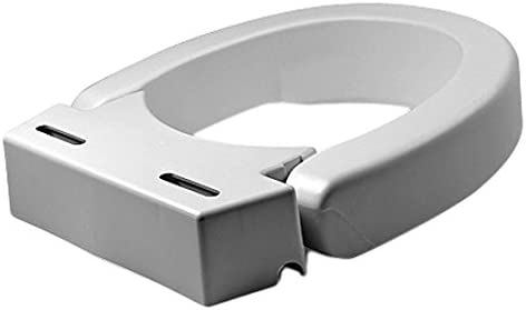B000PGPPHC Maddak Hinged Elevated Toilet Seat, Standard (725711000) 31PEEBUhQSL