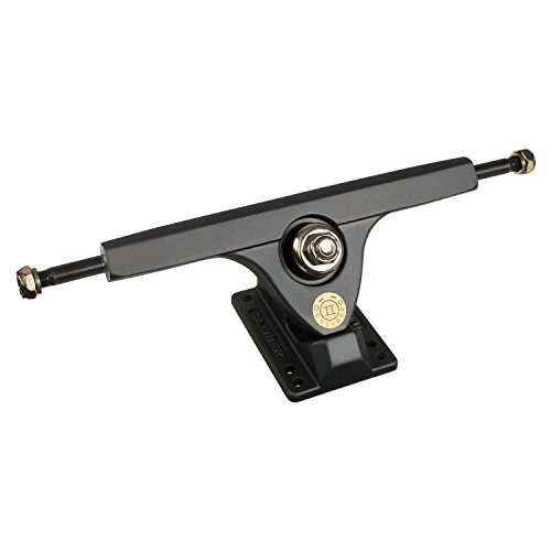 Caliber Trucks Cal II 50° RKP Longboard Trucks - Set Two (Satin Smoke, w/Bones Reds Bearings) (Best Skateboard Truck Brands)