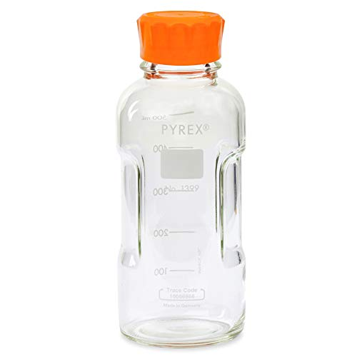 - Pyrex Slimline Media Bottle Easy Pour Corning 500ML Glass