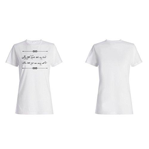 Ihre Kleinen Hände Stahlen Mein Herz Damen T-shirt j971f