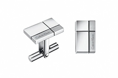 CALVIN KLEIN KJ3PMC090100 Men's CONSTRUCTED Polished/ Brushed Finish Cuff Links by Calvin Klein