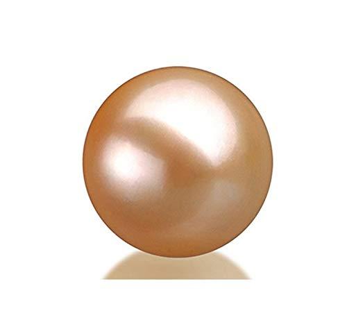 Japanese Pink Freshwater Loose AAAA Cultured Pearl 8mm Half Drilled Pearl Earrings Pendants or Rings