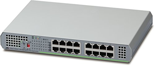 Allied Telesis AT-GS910/16-10 Switch - 16 Ports - Unmanaged, Gray from Allied Telesis