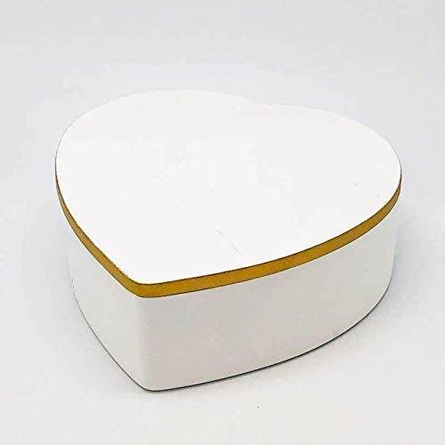 DECORPRO - Caja de corazón con Tapa, Caja de Madera en Forma de ...