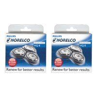 Norelco HQ8-2PK Heads, 2 Pack