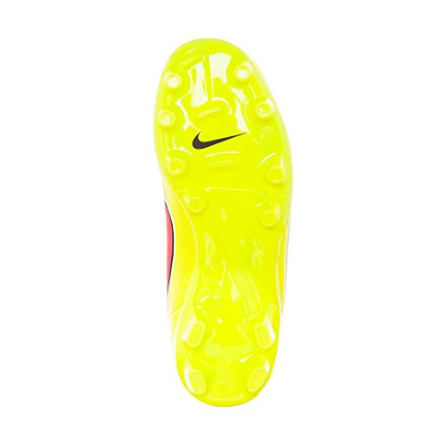 PNCH Leather HYPR Football Boot Junior Tiempo Genio NIKE VLT GLD BLCK MTLC FG CN qEcOwwaWS