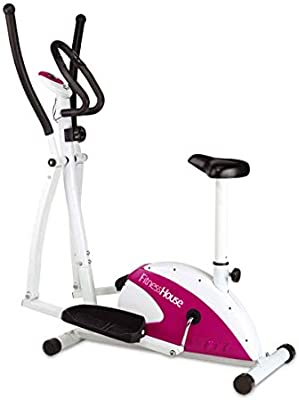 Fitness House FH Dual - Bicicleta elíptica y estática, Adultos ...