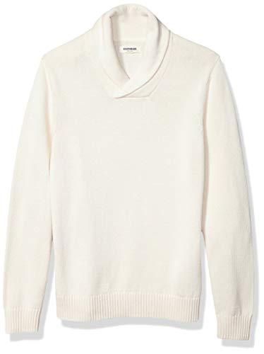 Amazon Brand - Goodthreads Men's Soft Cotton Shawl Sweater