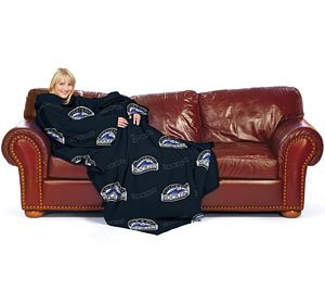 - The Northwest Company MLB Colorado Rockies Blanket48x71 Comfy Throw Logo Series, Team Color, 48