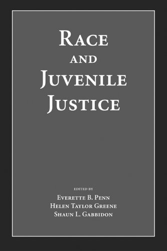 Books : Race And Juvenile Justice