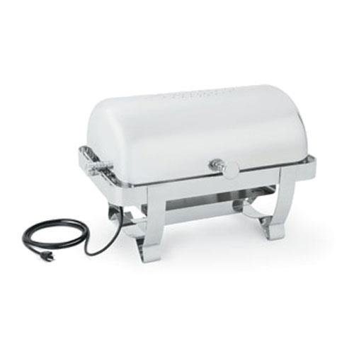 - Vollrath 46529 Orion Retractable Full Size Roll Top Chafer with 100/120v 240/450