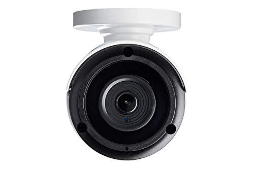 Lorex Weatherproof Indoor/Outdoor Security System 8 x 4K Ultra HD IP Audio Bullet Cameras, Color Night Vision & ListeninAudio– Includes 8-Channel 4K NVR w/ 2TB Storage Hard Drive
