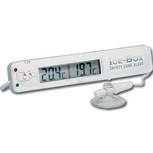 Compra Termómetro Hygiplas Digital para nevera o congelador ...