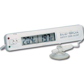 Termómetro Hygiplas Digital para nevera o congelador. Puedes leer la temperatura del interior de tu