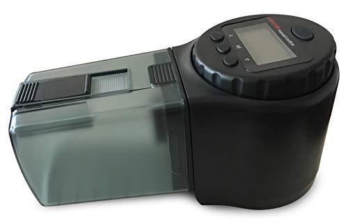 LEECOM Alimentador Automático de Peces | Comedero Programable de Alta Calidad | Última Tecnología LCD | Ideal para Acuario, Pecera, Tanques de ...