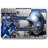 Custom Welcome Dallas-Cowboys Entrance Mat,Indoor/Outdoor Doormat,Door Mats 23.6''(L) x 15.7''(W) (Dallas Cowboy Door)