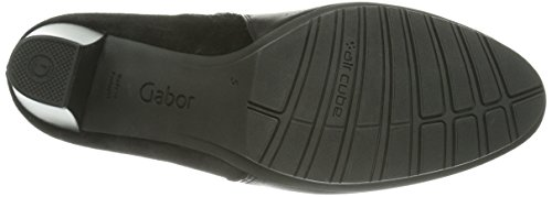 Gabor Gabor Comfort - Botines Mujer Schwarz Micro