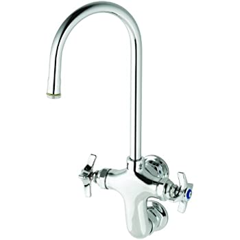 T Amp S Brass B 0315 Wall Mount Vertical Double Pantry Faucet