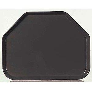 Carlisle 1713FG095 Glasteel Trapezoid Fiberglass Cafeteria/Fast Food Tray, NSF Certified, 18