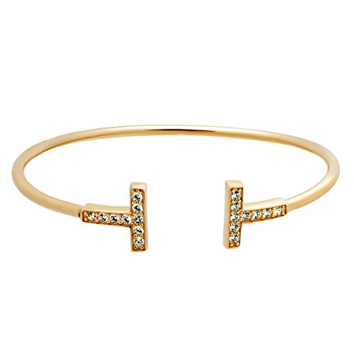 T-bar 925 sterling silver bangle T-bar gold bangle T-bangle T-bar gold bracelet Minimal jewelry bangle T-bracelet