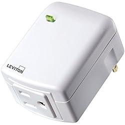 Leviton Decora Smart Plug, Appliance Module, Z-Wave, 15-Amp, Works with Amazon Alexa