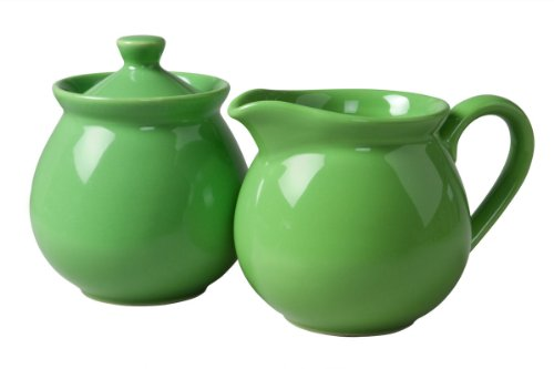 Waechtersbach Fun Factory II Green Apple Sugar/Creamer Set ()