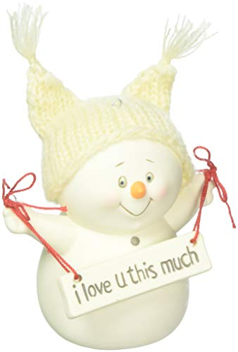 Department 56 Snowpinions I Love You This Much Hanging Ornament ()
