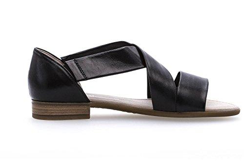 Gabor Comfort Sport 82.761.27 Store Damer Sko Sandalette I Løbet Størrelser Sort Sort VgZ68FF