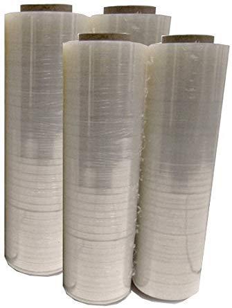 Mega Big Box Four (4) Plastic Shrink Stretch Wrap 80 Gauge 4 Rolls Pallet Wrap Stretch Film Hand Shrink Wrap 1476 sq ft 445mm x 450m, by Mega Big Box