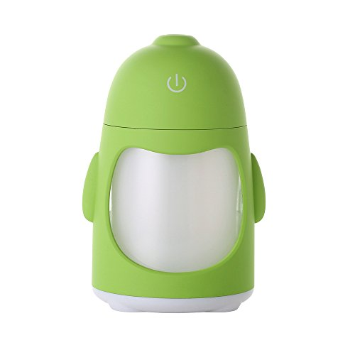 youlian Creative Cute Penguin Humidifier Mini USB Humidifier Seven Color Night Lamp Home Office Winter Humidifier Portable Travel Humidifying Device for use with Water by youlian