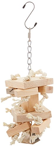 Paradise Natural Knots N Blocks Chew Toy, 6 by 12-Inch