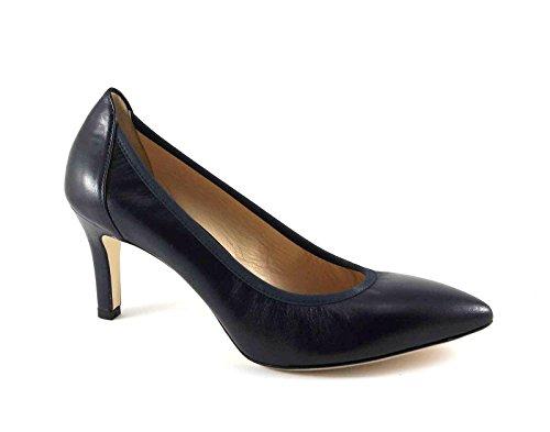 MELLUSO mujer zapatos D078V noche dcollet estirar en punta Blu