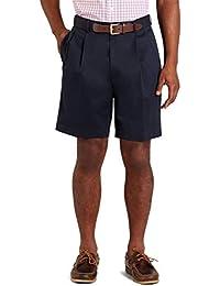 Men's 52713 Pleat-Front Lightweight Advantage Shorts, Navy