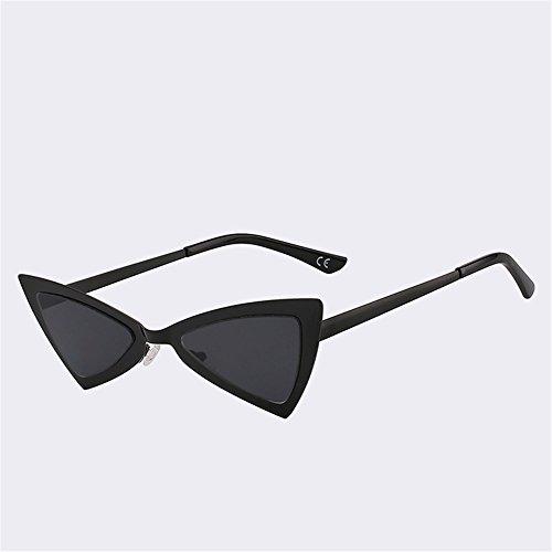 UV400 Butterfly moda marco SYXSN metal viajar sol negro de Gafas black sombras con de Vintage protectora Mujer Beach xqwOvZqUR