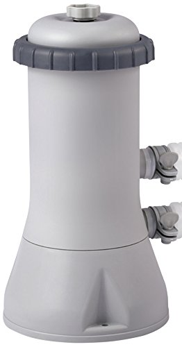 Intex Kartuschenfilteranlage, Typ ECO 3800, grau, 3,785 l/h / 99 W / 230 V
