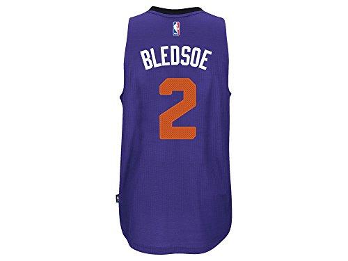 Adidas Men's Eric Bledsoe Phoenix Suns Swingman Jersey Purple (Large)