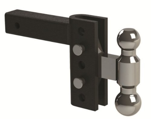 Andersen Mfg 3294 Ez Hd Heavy Duty Adjustable Hitch 4 In. Drop, 2 x 2.31 In. Combo Ball 10K, 14K Gtwr. by Andersen Mfg