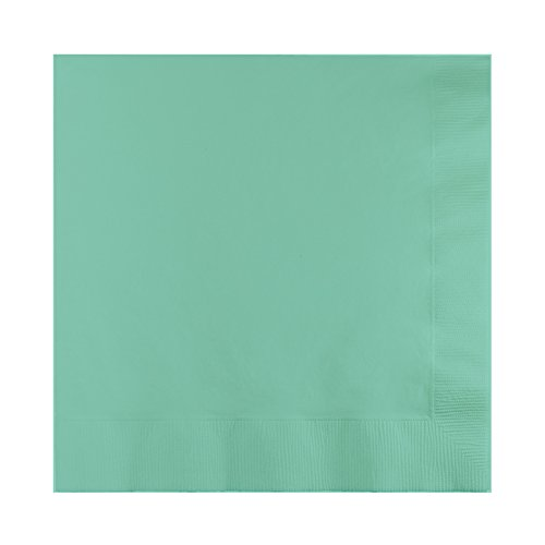 Creative Converting 318891 Fresh Mint 2-Ply Beverage Napkin, 5