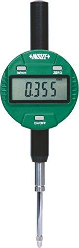INSIZE 2113-251 No Auto Power Off Digital Indicator, Resolution 0.001 mm/0.00005', 25.4 mm/1', Lug Back